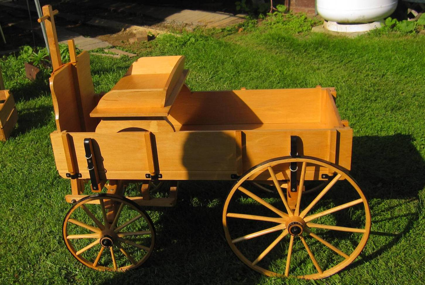 Hand-made Wagon (Goat Cart)