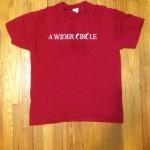 A Wider Circle tshirt
