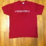 A Wider Circle tshirt