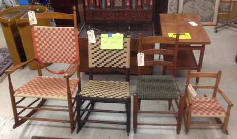 This Just In: Shaker Chairs, Hope Chest, Global Goodies