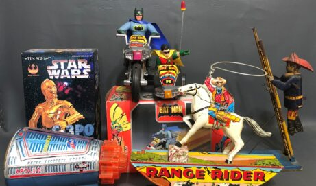 Santa Stuffs Our eBay Store With Vintage Toys!