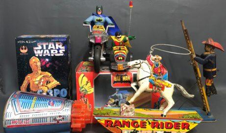 Santa Stuffs Our eBay Store With Vintage Toys!