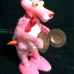 Pink Panther wind-up toy