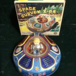 Space Survey X-09 Battery Operated Toy